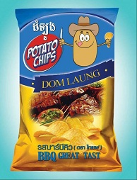 Domlong BBQ - Potato Chips